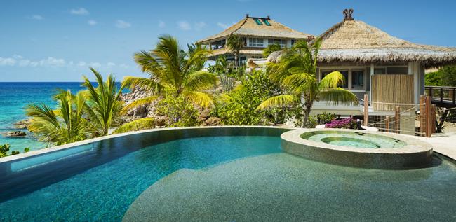 Moskito Island's Beach Villa.