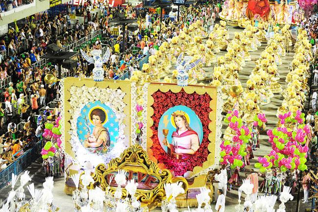 Carnival 2016 in Brazil.