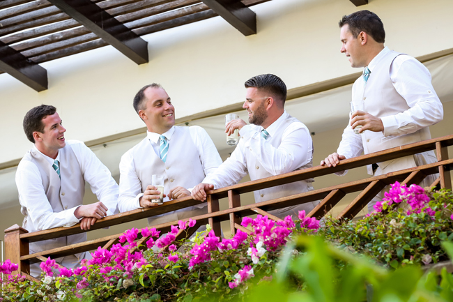 The Grand Velas Riviera Nayarit's new Groom Suite Experience includes a tequila tasting on the terrace of the Imperial Suite.