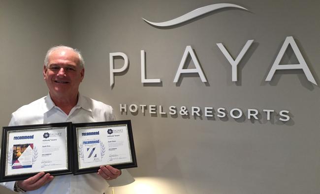 Howard Tanenbaum,v.p. of group and retail salesat Playa Hotels & Resorts.