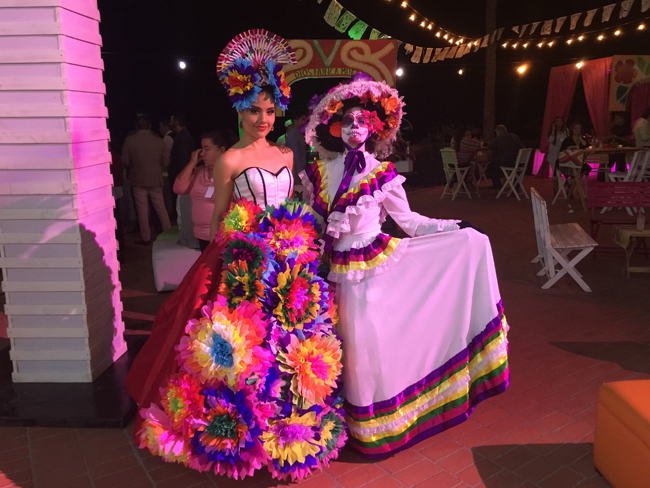 Entertainment at the Welcome Cocktail for Gala Vallarta Nayarit.
