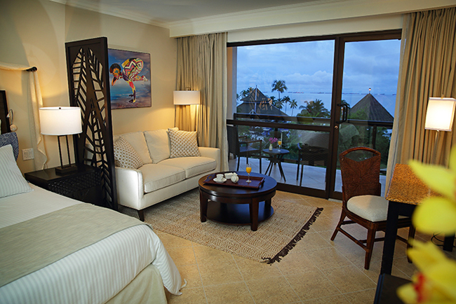 A guestroom atSecrets Playa Bonita Panama.