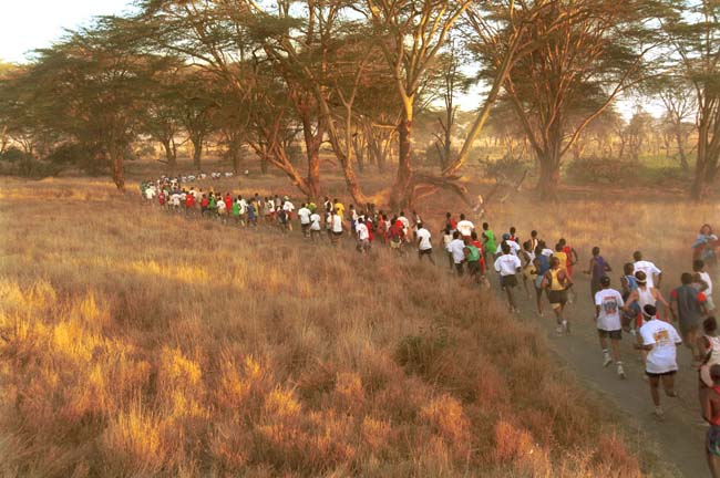 Aardvark Safaris new package centers around the 17th annual Safaricom Marathon, which takes on June 25 at the Lewa Wildlife Conservancy in Kenya.