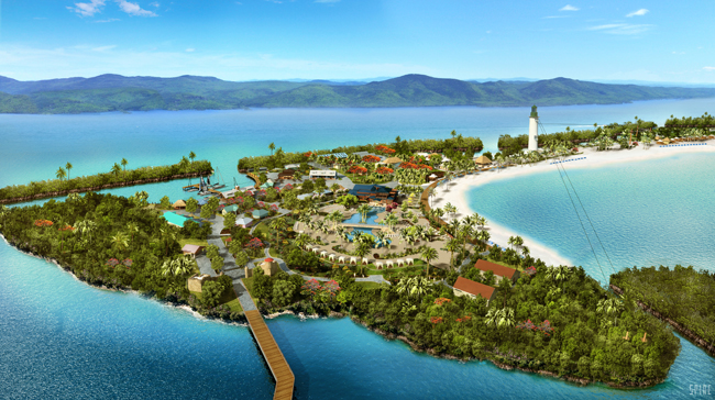 Norwegian Cruise Line's Harvest Caye resort-styel port of call will debut this November in Belize.