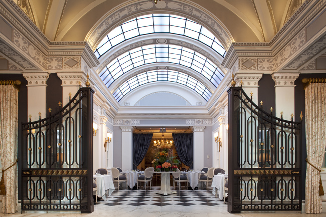 The Jefferson, Washington, D.C.'s skylight and gates.
