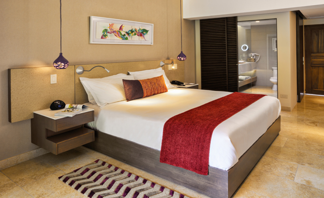 The Tabacon Thermal Resort & Spa's redesigned Orchid Room.
