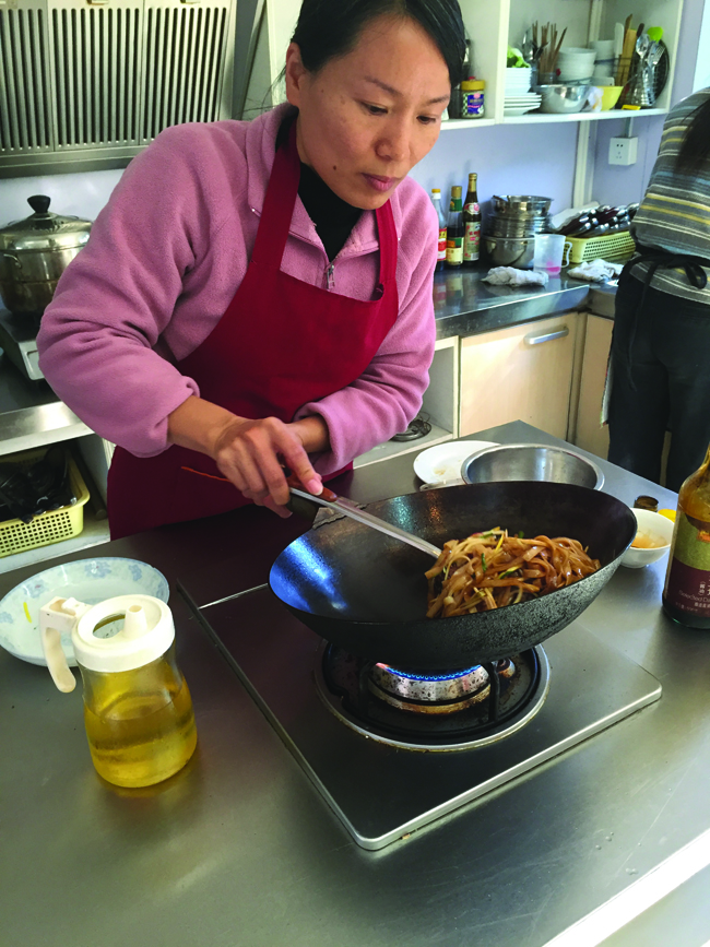 Avanti Destinations' culinary tour in China includes a cooking class...or two.