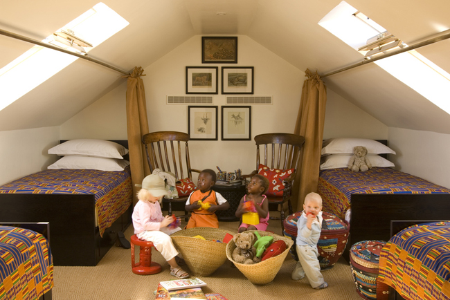 The family-friendly Koro Lodge at the Bushmans Kloof Wilderness Reserve & Wellness Retreat in South Africa.