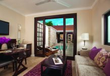 The Butler Village Honeymoon Romeo & Juliet Sanctuary One Bedroom Villa Suite with Private Pool.