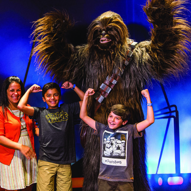 Disney Cruise Line offers Star Wars-themed celebrations.