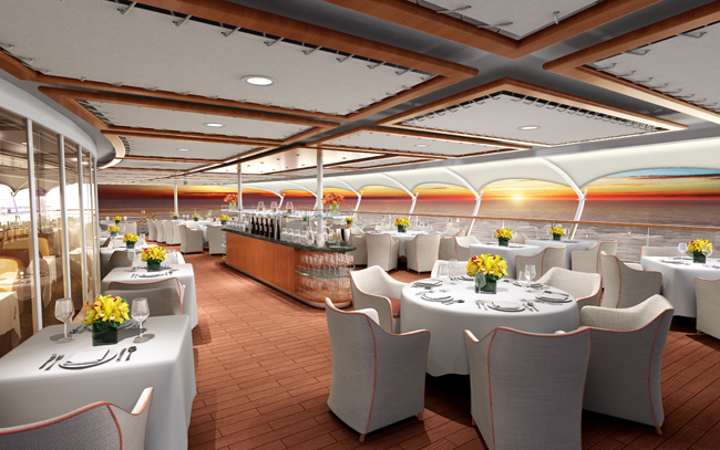 The Grill by Thomas Keller, Seabourn Cruises.