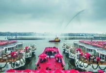 Six Viking Longships were christened last month in Amsterdam.