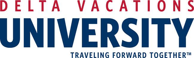 Delta Vacations University new logo.
