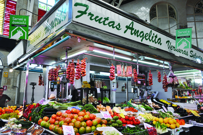 Valencia's Central Market is open daily.