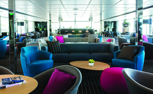 The hip decor on board Emerald Waterways's ships speaks to a younger crowd.