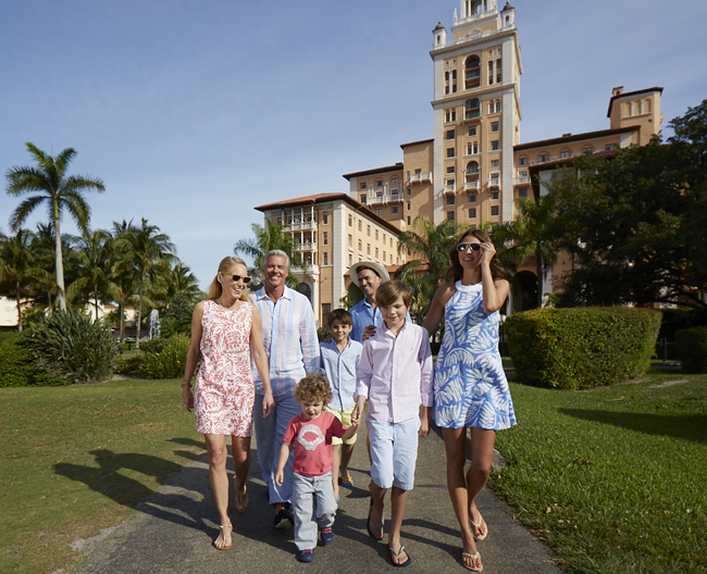Miami'sBiltmore Hotel has re-launched itsFamily Fun packagein collaboration with its newBiltmore Buddieskids program.