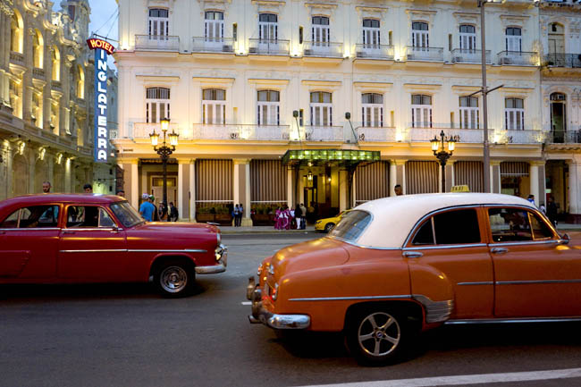 The Hotel Inglaterra is one three properties in Cuba that Starwood Hotels & Resorts Worldwide, Inc. has been approved to operate.