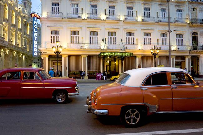 TheHotel Inglaterra is one threepropertiesin Cuba thatStarwood Hotels & Resorts Worldwide, Inc. has been approved to operate.