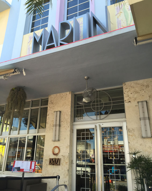 The Marlin Hotel.
