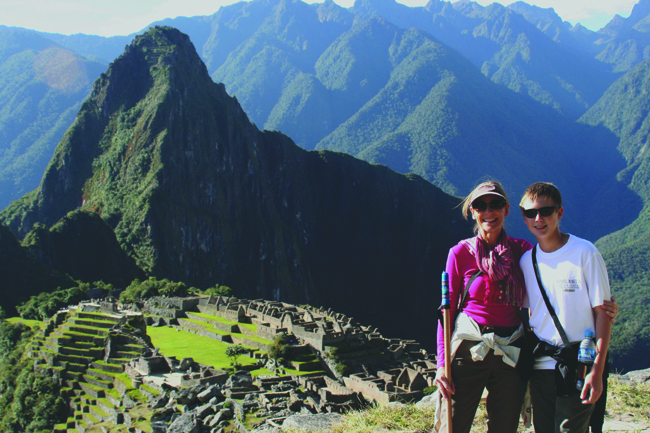 Traveling with Tauck to Machu Picchu.