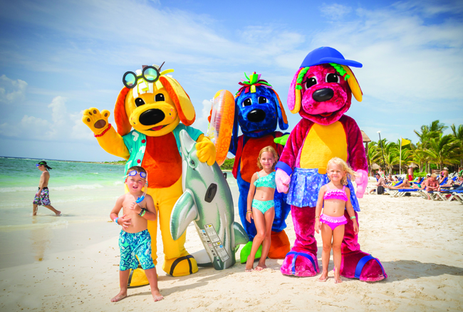Palladium Resorts offers a Raggs program ideal for the little ones.