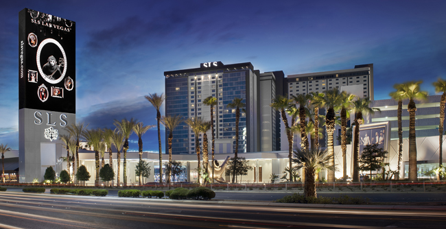 The SLS Las Vegas is now Starwood's Tribute Portfolio.
