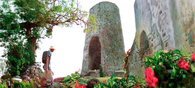 Cinnamon Bay Sugar Mill Ruins in St. John.