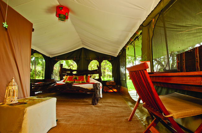African Travel Inc. has a Kenya trip that includes a stay at Sala's Camp in Maasai Mara.