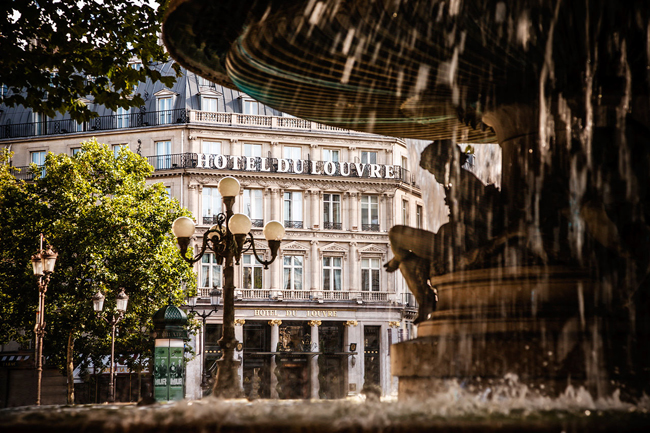 The Hotel du Louvre in Paris is one of the properties featured inThe Unbound Collection by Hyatt's portfolio.