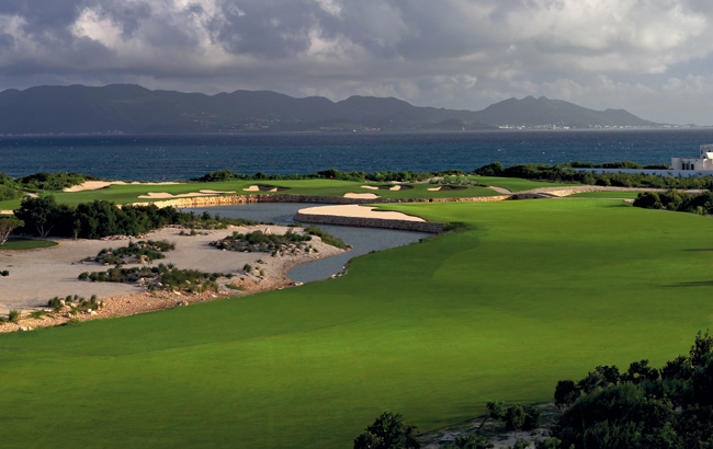 CuisinArt Golf Resort & Spa in Anguilla's gold course.