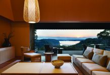 Villa accommodations at Amanemu, a hot springs resort in Japan.