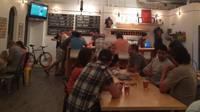 TheMomentum Brewhouse in Bonita Springs, Florida.