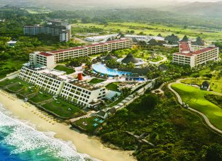 Bird's-eye view of the Iberostar Playa Mita.