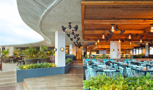 The CATCH restaurant atThompson Playa del Carmen.