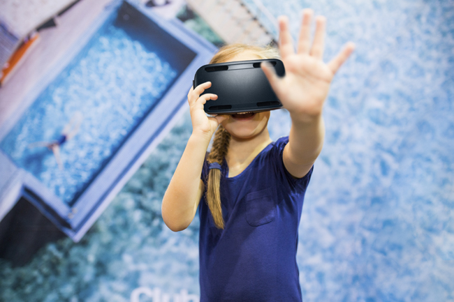 Club Med allowedvisitors at theSydney Travel Expo in Australia to test its new360-degree virtual reality tours first-hand.