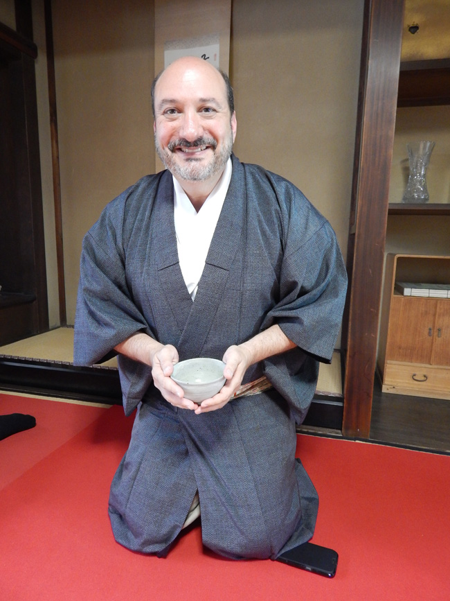 Scott in Kyoto, Japan.