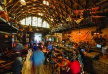 The Hangar restaurant at Disney Springs.