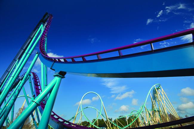 SeaWorld Orlando's Mako ride opens June 10.