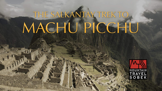 Mountain Travel Sobek'sfirstvirtual reality travel film takes guests on a journey to the ruins of Machu Picchu.