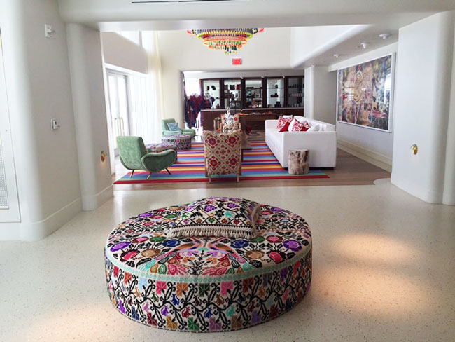 The Tierra Santa Healing House at Faena Hotel Miami Beach.