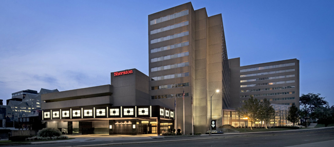 Starwood stockholders aremeeting on April 8 at the Sheraton Stamford Hotel in Connecticut to vote on the Marriott-Starwood merger agreement.