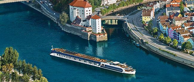 AmaWaterwaysin Passau, Germany.