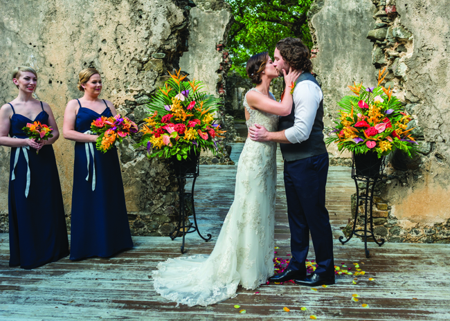 Saint Lucia's Awesome Caribbean Weddings offers destination weddings at Pigeon Point.