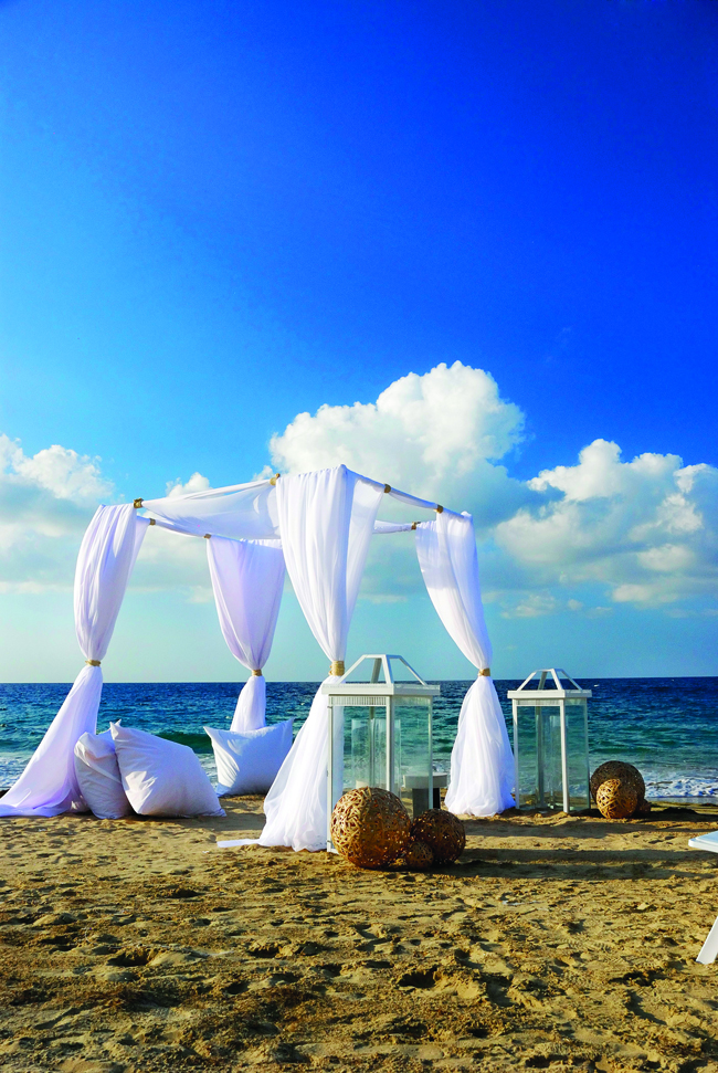 The W Retreat & Spa - Vieques Island in Puerto Rico offers an array of options for destination wedding celebrations.