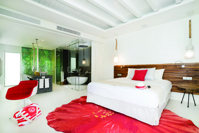 A stylish Zen Oasis retreat at Club Med Punta Cana.