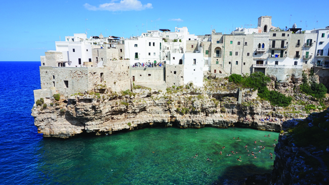 Travel Italian Style'sWomen's Small Group Tour to the Hidden Gem of Italy itinerary exploresItaly's scenic southern region in Puglia.