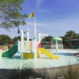 The kids club waterpark.