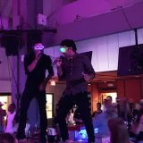 La Linea band provided guests with a fun night of entertainment at the club.