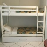 The Deluxe Family room with bunk beds.