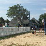 The kids club playground.